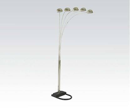 Picture of 5 Caps Style Floor Lamp/Chrome
