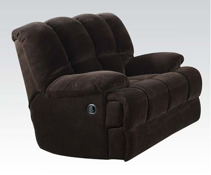 Picture of Ahearn Chocolate Champion Fabric Chair