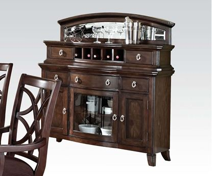 Picture of Keenan Dining Server in Walnut Finish