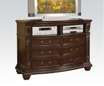 Picture of Anondale Traditional Cherry Finish TV Console Media Chest