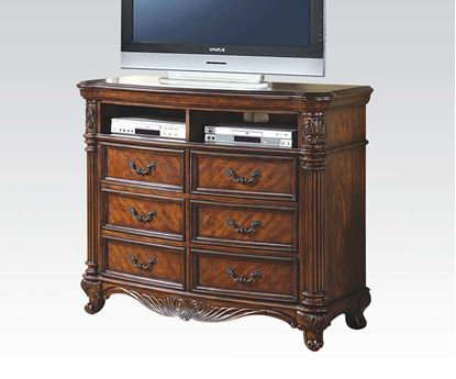 Picture of Remington Brown Finish Media Chest
