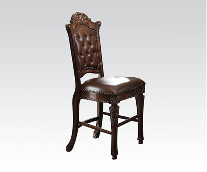 Picture of Vendome Cherry 2 Pcs. Counter Height Chair    (Set of 2)
