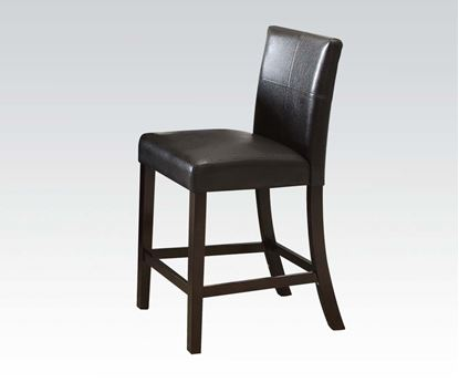 Picture of Idris 2pc Espresso Finish Counter Height Chair   (Set of 2)