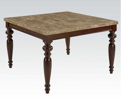 Picture of Bandele Emparedora Faux Marble Top Counter Height Dining Table