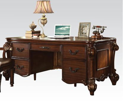 Picture of Traditional Vendome Cherry Finish Office Desk
