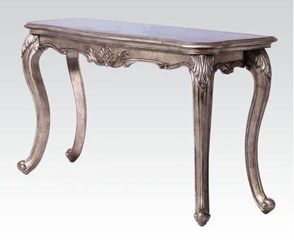 Picture of Chantelle Antique Platinum Sofa Table w/granite top