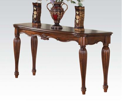 Picture of Traditional Cherry Finish Occasional Sofa Table