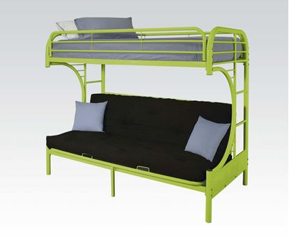 Picture of Green T/F Funton Metal Bunkbed (180Lbs) No P2 Concern