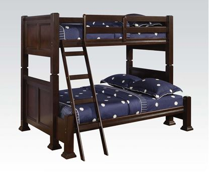 Picture of Mission Espresso Finish Twin Full Bunk Bed
