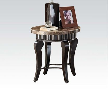 Picture of Galiana End Table with Brown Marble Top
