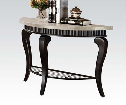Picture of Galiana Sofa Table with Marble Top