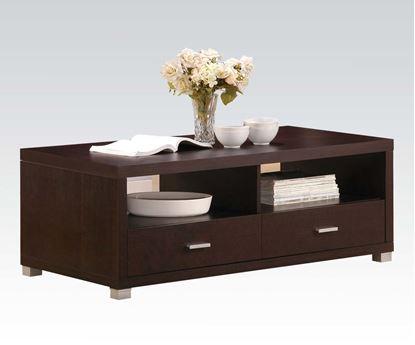 Picture Of Tustin Espresso Rectangular Coffee Table