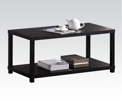 Picture of Contemporary Espresso Occasional Coffee Table