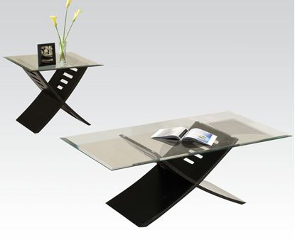 Picture of 3Pc Coffee/End Table Set in Black