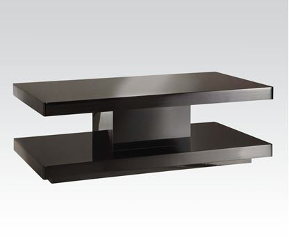 Picture of Cleon Coffee Table in Black Finish