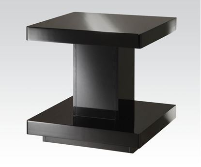 Picture of Cleon End Table in Black Finish