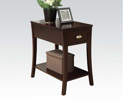 Picture of Corin Side Table in Espresso Finish