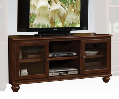 Picture of Dita Walnut Finish TV Stand