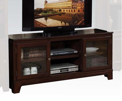 Picture of Keenan Merlot Finish TV Stand