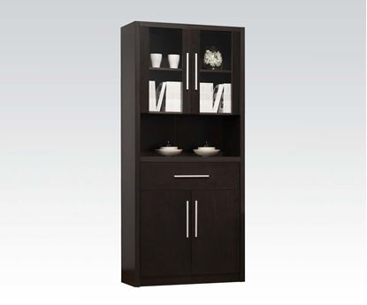 Picture of Malloy Espresso Entertainment Center Cabinet