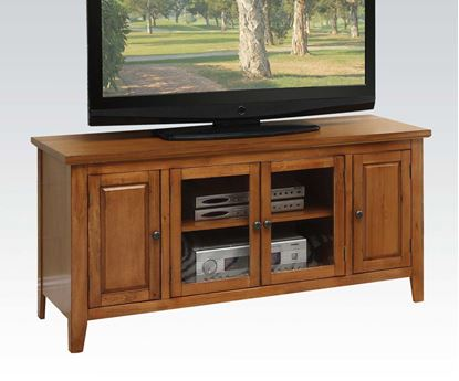 Picture of Contemporary Christella Oak TV Stand