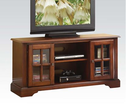 Picture of Basma TV Stand in Cherry Finish