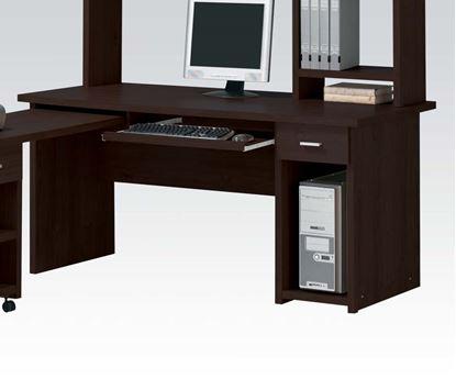 Picture of Linda Computer Desk Set in Espresso Finish