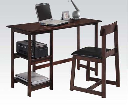 Picture of Espresso 2pc PK Desk & Chair