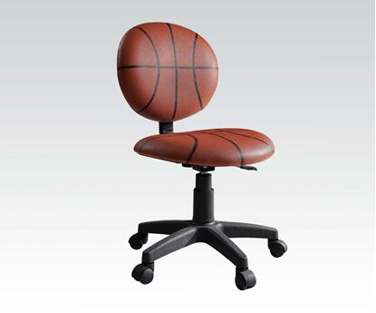 Picture of Youth Room Basketball Theme Adjustable Office Chair
