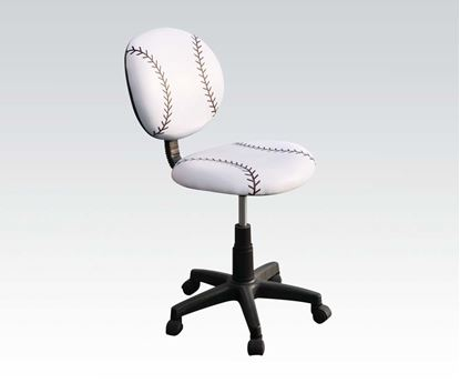 Picture of Lovely Youth Boy Baseball Pneumatic Lifting Side Chair
