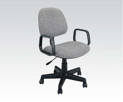 Picture of Mandy Grey Fabric Office Chair