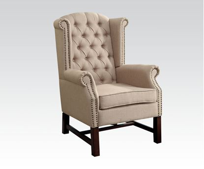 Picture of Beige Accent Chair