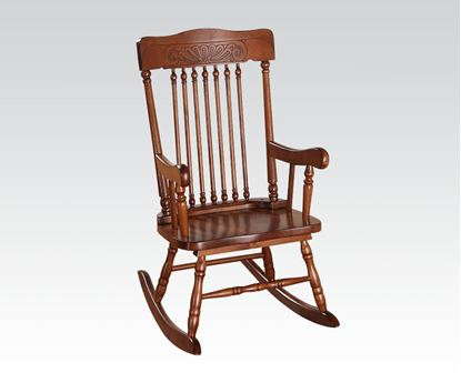 Picture of Kloris Collection Pressed Back Spindled Back Tobacco Finish