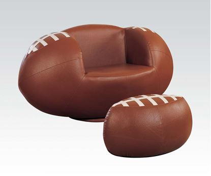 Picture of Allstar II Football Chair and Ottoman Set
