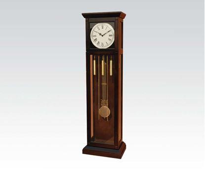 Picture of Dark Walnut Grandfather Clock  W/P2