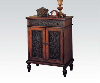 Picture of Traditional Style Console Table in Cherry Finish