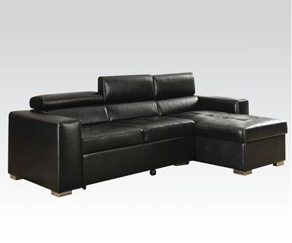 Picture of Black Blm Sectional