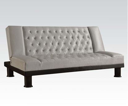 Picture of Contemporary Adjustable Sofa with Gray PU