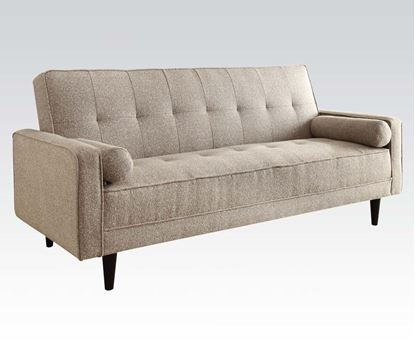 Picture of Linen Adjustable Sofa w/2 Pillows