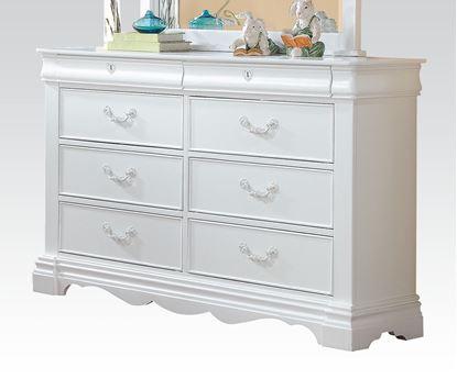 Picture of Estrella White Finish Dresser