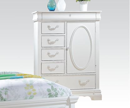 Picture of Estrella White Finish Chest