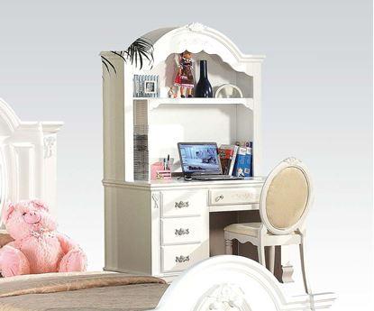 Picture of Flora White Finish Student Desk