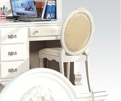 Picture of Flora White Finish Student Chair