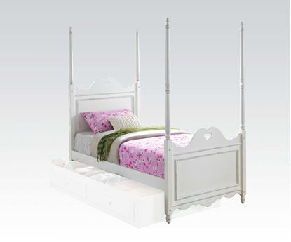 Picture of Sweetheart White Finish Youth Twin Bed
