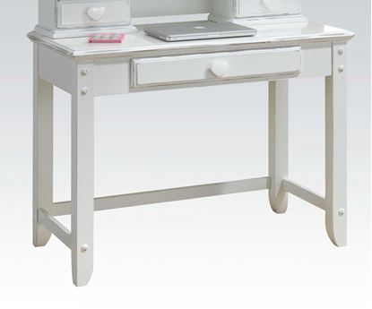 Picture of Sweetheart White Finish Youth Computer Desk