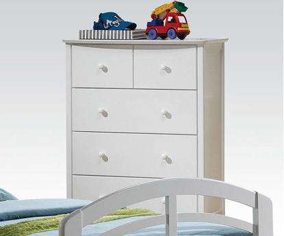 Picture of San Marino Transitional Youth Chest in Francis White Finish