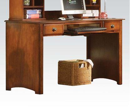 Picture of Brandon Oak Finish Computer Desk