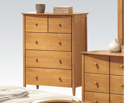 Picture of San Marino Transitional Chest in Maple finish