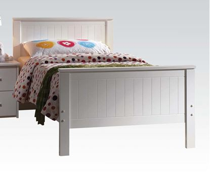 Picture of Bungalow White Finished Youth Twin Bed