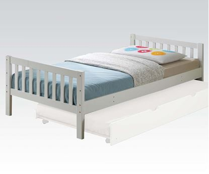 Picture of Cutie Kid Twin Size Bed in White Finish